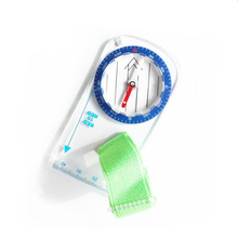 Outdoor Camping Directional Cross-country Race Hiking Baseplate Ruler Map Scale Compass Handheld Compass Camping Equipment