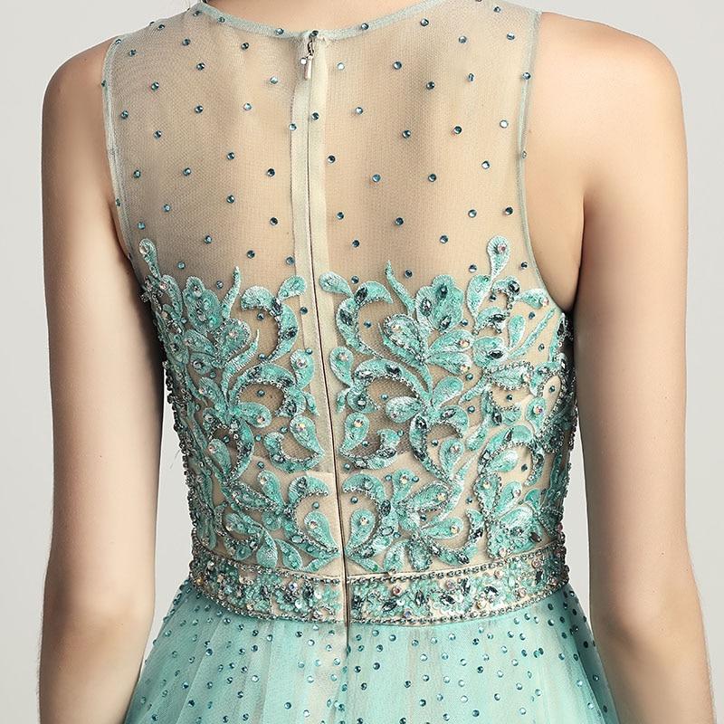 Skönhet Lace Appliques Knä Längd Cocktail Klänningar med Tulle - Särskilda tillfällen klänningar - Foto 6