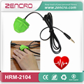 Heartbeat Sensor Silicone Finger Clip Pulse Meter Heart Rate Monitor