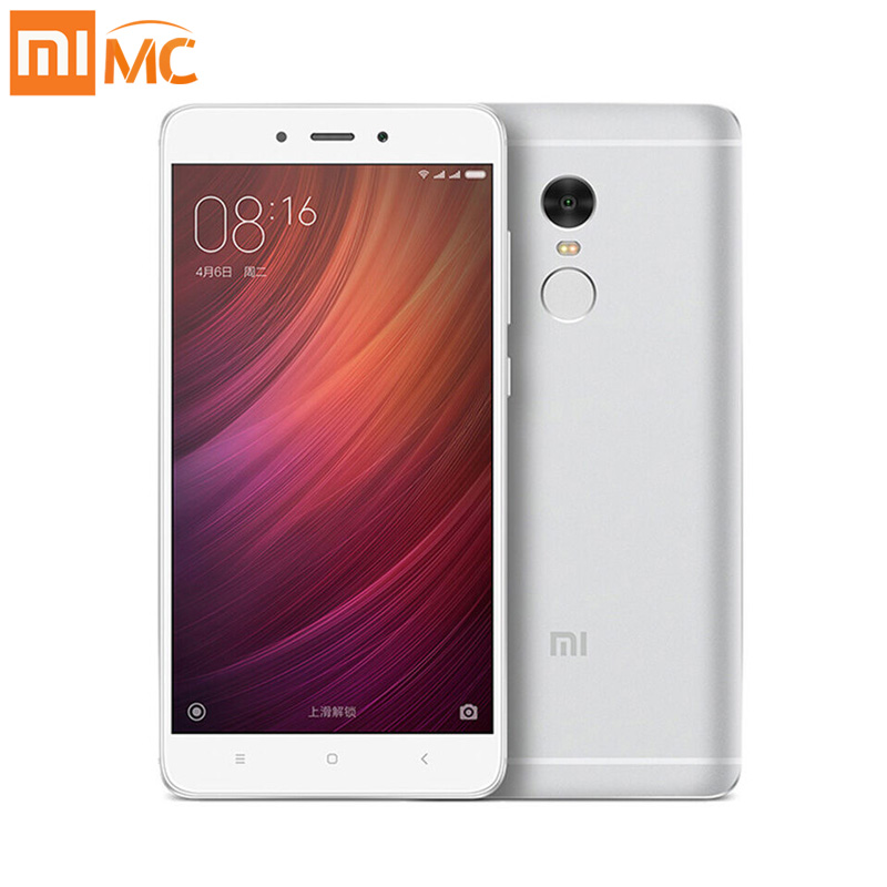 "Original Xiaomi Redmi Note 4 Pro Prime MTK Helio X20 Deca Core 3GB RAM 64GB ROM 5.5"" FHD Fingerprint ID MIUI8 4G Mobile Phone"