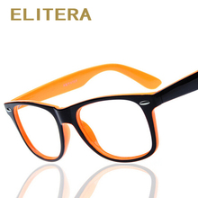 ELITERA fashion big glasses frame men women retro vintage decorative frames without lenses round glass frame oculos de grau