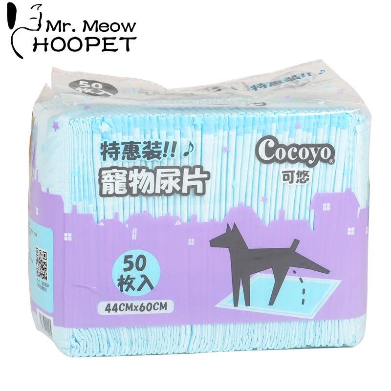 Hoopet produit pour animaux de compagnie chien couche-culotte chien fournitures de nettoyage chat couche quotidienne