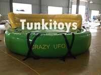 5 riders, inflatable crazy sofa, crazy UFO, water sports