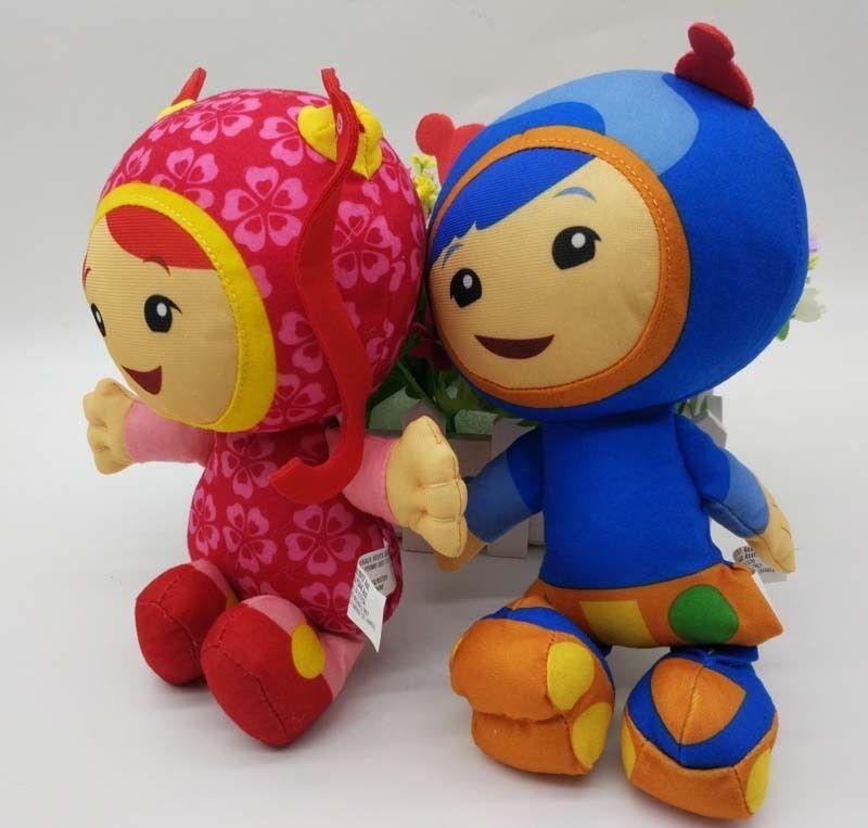 Toys Hobbies Team Umizoomi Bot Milli Geo Plush 8 Inch Doll