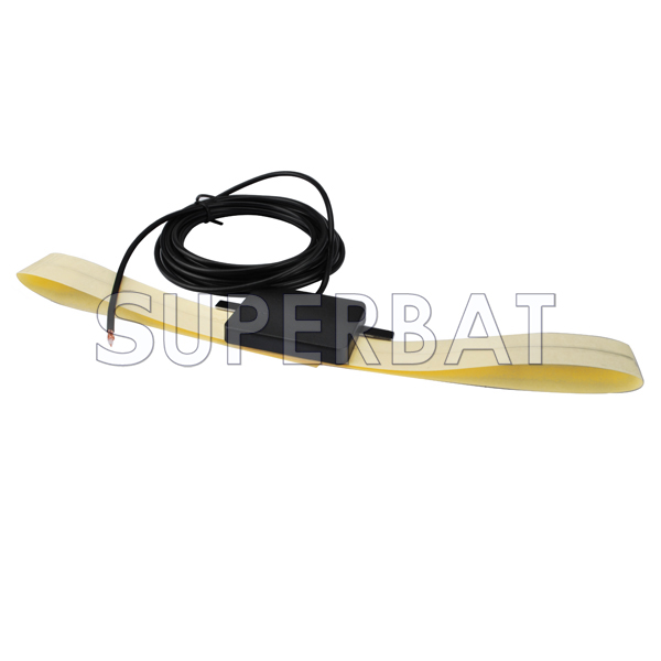 """Fakra /""""D/"""" female ST to Jack right angle RA pigtail RG174 10cm for GSM Cellular"""