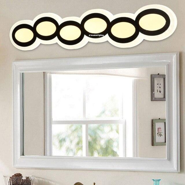 Modern New Led Wall Lamp Light Sconce Acrylic Bathroom Mirror Lights  Fixture Lamps 90 260v