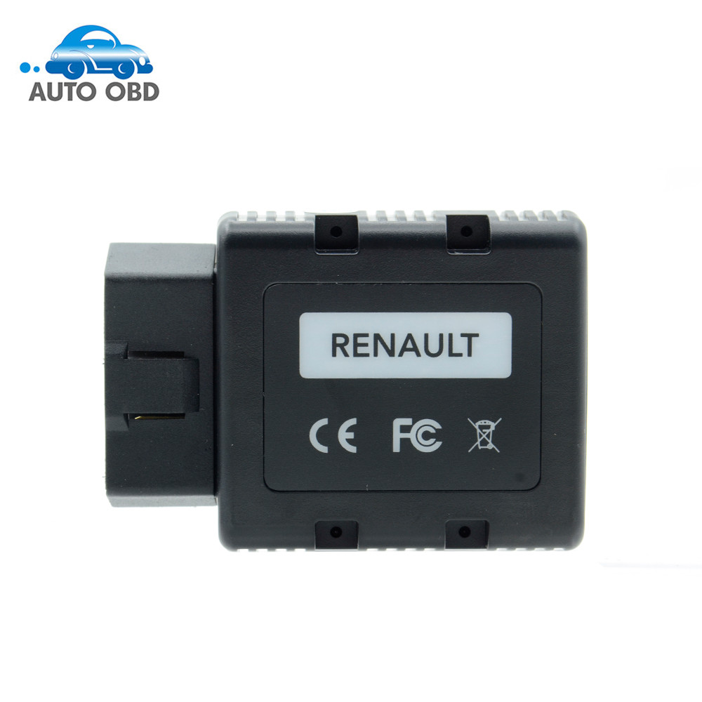 ФОТО Best sale Renault-COM For Renault Com Bluetooth Diagnostic and Programming Scan Tool for Renault Replacement forRenault Can Clip