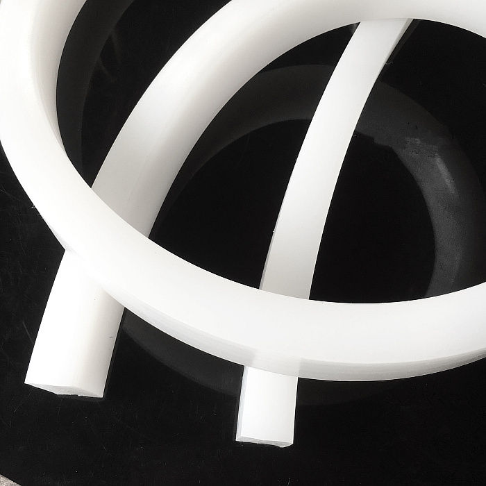 1PCS SP017 Length 1meters size 2*4mm Silicone Sealing strip  Silicone rubber piece  Anti-slip waterproof heat-resistant