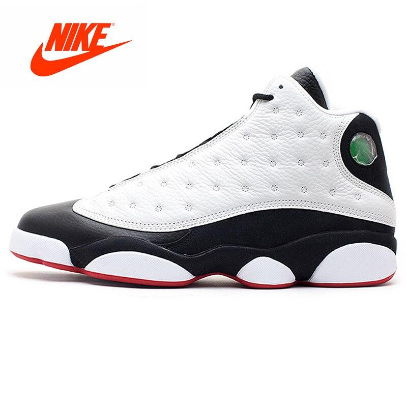 Original Nouvelle Arrivée Authentique Nike Air Jordan Retro 13 Il Est Jeu de Basket-Ball Pour Hommes Chaussures de Sport Baskets En Plein Air 309259 -104