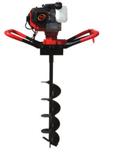 Strongest power 71cc 2.4kw Ground Drill Earth Auger Hole Digger Garden Tools Planting Machine Farm Auger Agricultural Drill powerful 82cc hole digging tools earth auger drilling machine heavy duty digging hole auger anchor