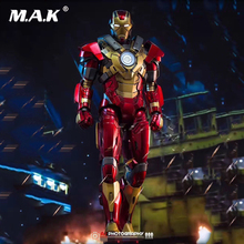 1/9 Iron Man DFS007 King Arts 1/9 Mark17 Iron Man 3 MK17 Diecast Action Figure Movie Doll CN Action Figure