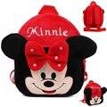 Venda quente Disney Brinquedos Para Crianças Bonito Dos Desenhos Animados Anime Minnie Mochilas De Pelúcia Crianças Baratos Mochilas Saco de Escola Do Jardim de Infância Dj059