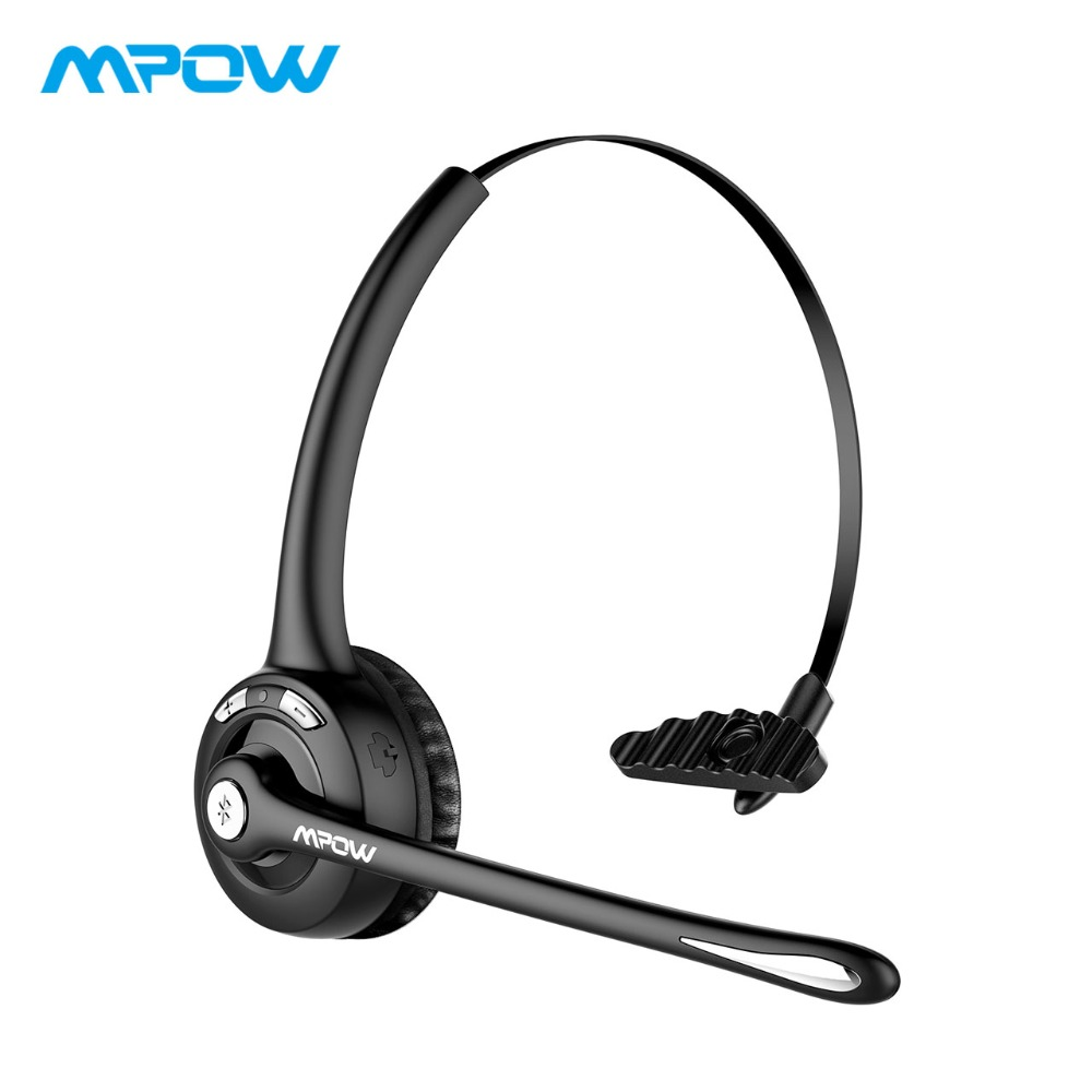 Mpow MBH15 2 in 1 Over-ear Headphone Wireless Bluetooth Headphones with Mic Hands-free Earphone Noise Cancelling For PC/Laptop mpow wireless headphone bluetooth 4 1 in ear headset with remote control