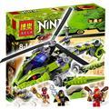 330 шт. 9757 Ниндзя Rattlecopter Строительный ZX Ллойд Garmadon Фан-suei Детей Игрушки Совместимо С Lego