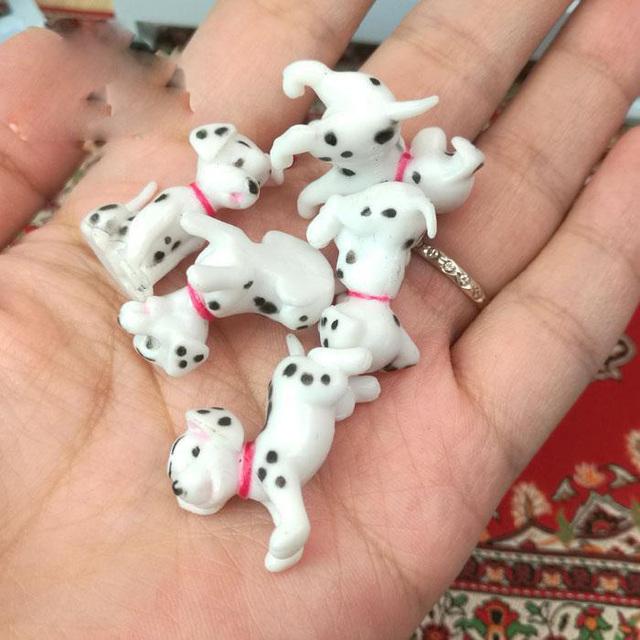 1:12 Resin Miniature Dalmatian Dogs Doll