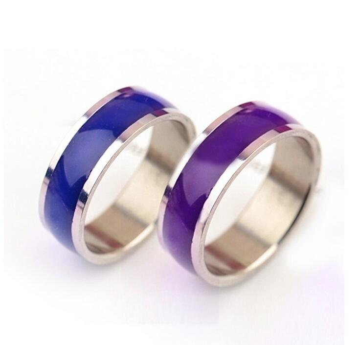 8 MM Mood Anelli Personalità titanio acciaio anello che cambia anelli di colore 500g/100 pz-in Anelli da Gioielli e accessori su  Gruppo 1
