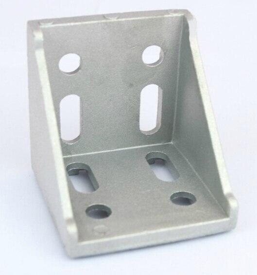8080 Corner Angle Bracket Joint Aluminum Profile Extrusion CNC DIY