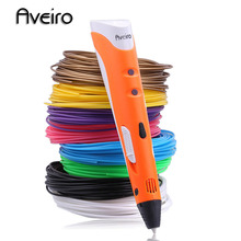 Original pen-3d model 3d drawing printing magic pen abs 1.75mm filament smart 3 d printer pens for child birthday gift graffiti
