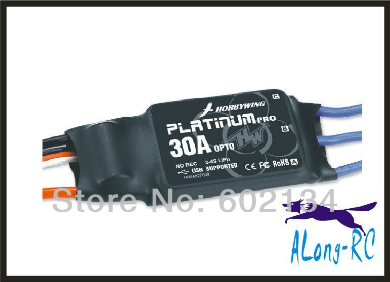 ФОТО Free ship  high quality Hobbywing Platinum-30A-OPTO-PRO brushless ESC-for RC airplane model/hobby plane/ spare part