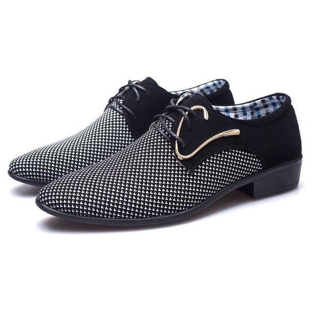 מדד המחירים לצרכן 2018 מעצב חדש אביב טלאי נעלי השמלה של אנשי עסקים hairstylis גברים נוחים נעלי נעלי שמלת כלה ZY-01 3