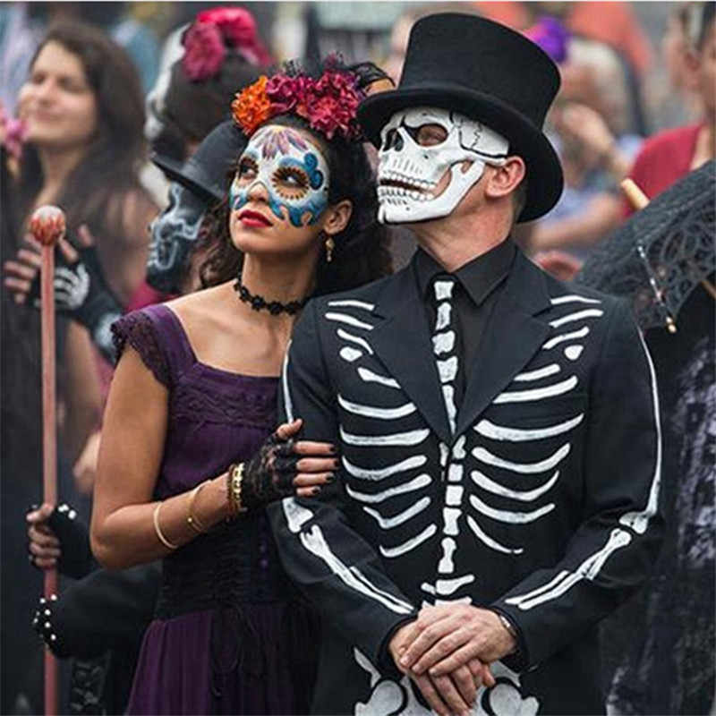 Movie 007 James Bond Spectre Mask Skull Skeleton Scary