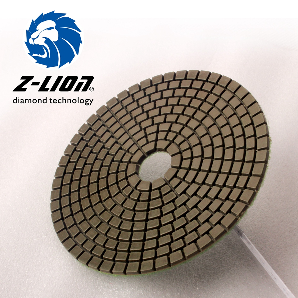 Z lion 5 125mm diamond grinding disc wet polishing buffing pad z lion 5 125mm diamond grinding disc wet polishing buffing pad granite ceramic tile polish tool flexible abrasive pad for stone in abrasive tools from doublecrazyfo Gallery