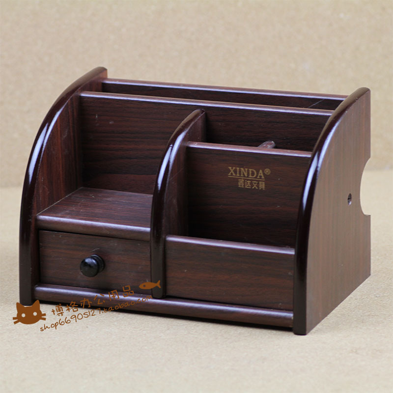 FREE shipping Xinda xd-5018 - quality wool pen wooden pen multifunctional pen office stationery storage pen free shipping wood 6051 wool multifunctional pen office pen holder notes box supplies
