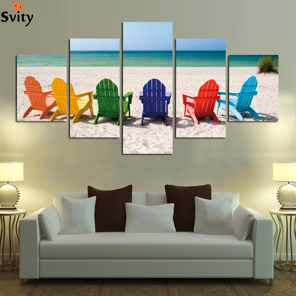 Free Shipping Home Decorators: Free Shipping Office Home Decor Wall Art Sunshine Beach HD