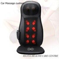 NEW Health care products shiatsu Massage mat home&car power cervical vertebra therapy car massage cushion 110 240V
