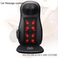 NEW Health care products shiatsu Massage mat home&car power cervical vertebra therapy car massage cushion 110 240V