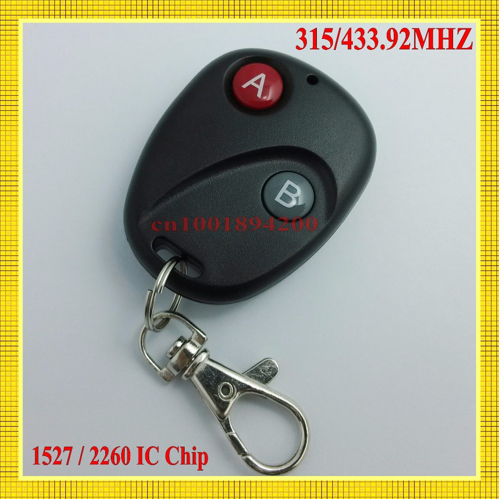 Radio RF Remote Control Transmitter A B /Lock Unlock Button 315/433MHZ SC2260 EV1527 Big Button Remote Control for remote Switch remote control transmitter for remote switch 1 2 3 4 6 8 button small size long range big button remote key pad 315 433 22621527