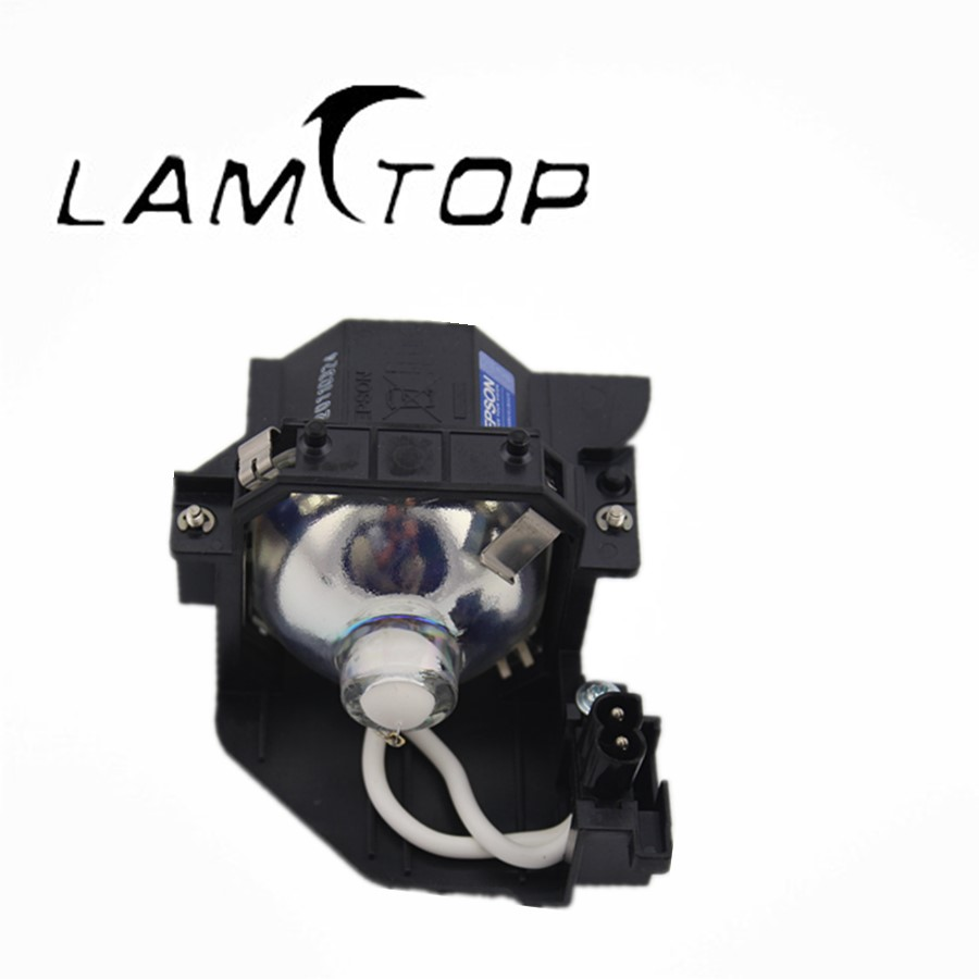FREE SHIPPING  LAMTOP  180 days warranty  projector lamps with housing  ELPLP44/V13H010L44 140W for  EMP-DM1 free shipping lamtop 180 days warranty projector lamps with housing elplp44 v13h010l44 for emp de1