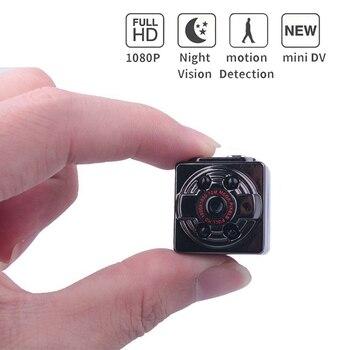 Mini Kamera SQ8 Mikro DV Kamera Eylem Gece Görüş Dijital Spor DV Kablosuz Mini Ses Video TV Out Kamera HD 1080 P 720 P