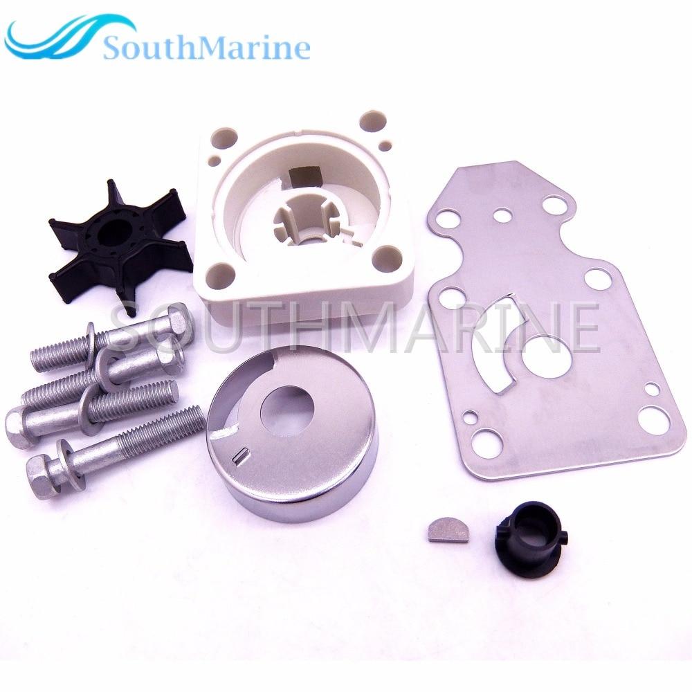 63V W0078 00 Water Pump Impeller Repair Kit for Yamaha F15 15hp 4 stroke Outboard Motors