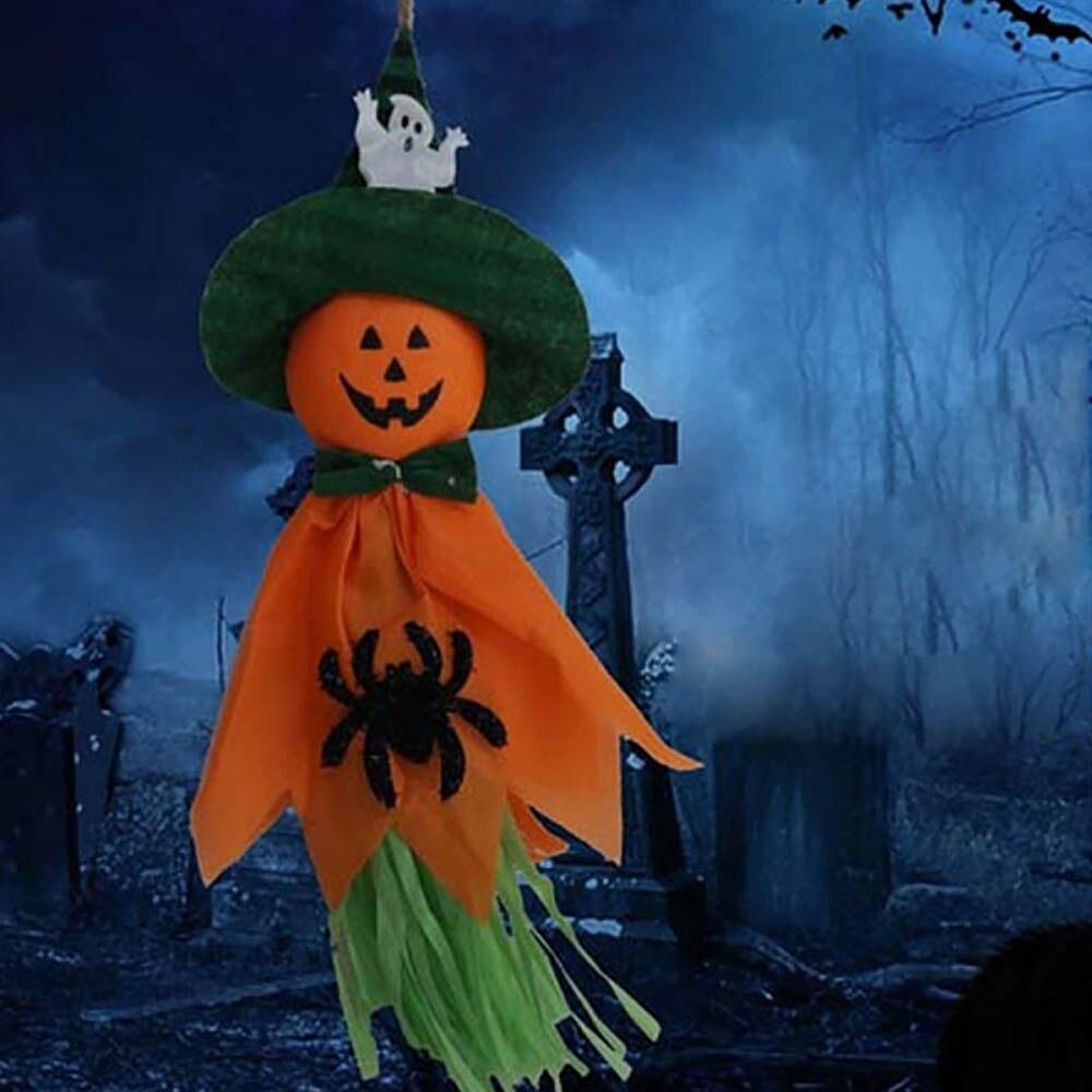 Colgante Halloween fantasma calabaza sombrero bruja espantapájaros muñeca  decoración fiesta hogar Halloween favores en Partido DIY Decoraciones de  Hogar y ... 760fa388ef8