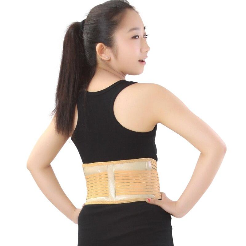 2016 Sıcak Satış Fitness Ekipmanları Turmalin Manyetik Bel Desteği için Terapi Kemer Kendini ısıtma Bel Desteği Spor Güvenlik