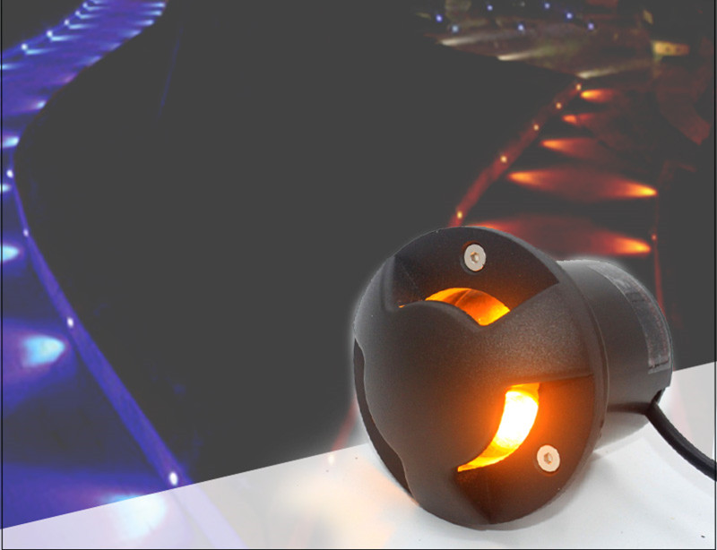 12 v subterrâneo conduziu a lâmpada rgb