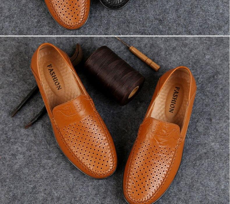 Verão Casuais Slip on Sapatos Masculinos De