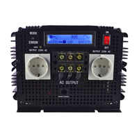 LCD display UPS inverter pure sine wave 3500W 7000W(peak)12v to 220v Inverter+Charger & UPS,Quiet and Fast Charge power supply