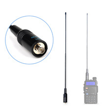 Sma-женщина рацией vhf/uhf нагоя портативной talkie walkie band baofeng антенна dual