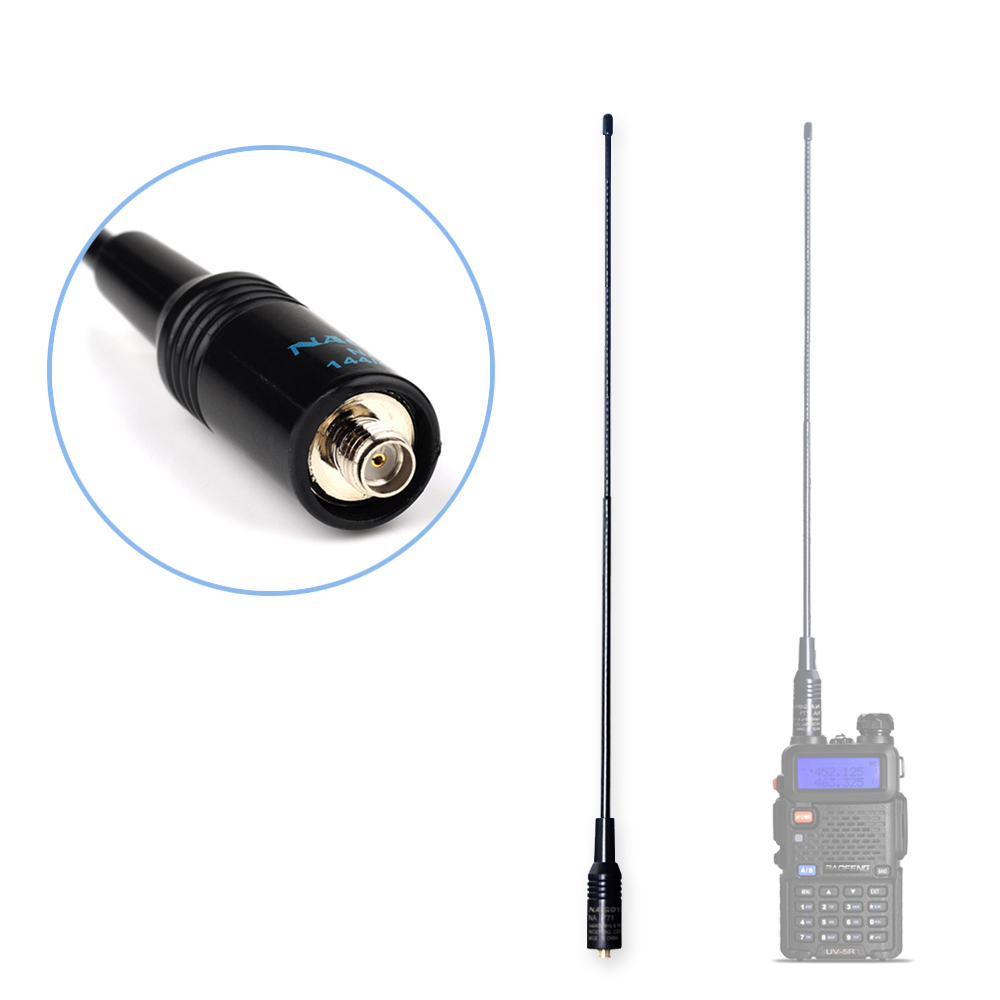 Baofeng Antenna NA-771 Dual Band Walkie Talkie Baofeng Antenna VHF/UHF SMA-Female For Handheld Radio Baofeng UV-5R UV-82 BF-888S