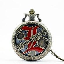 Новые модные карманные часы для мужчин ретро кварцевая техника для женщин стимпанк relogio de bolso reloj mujer