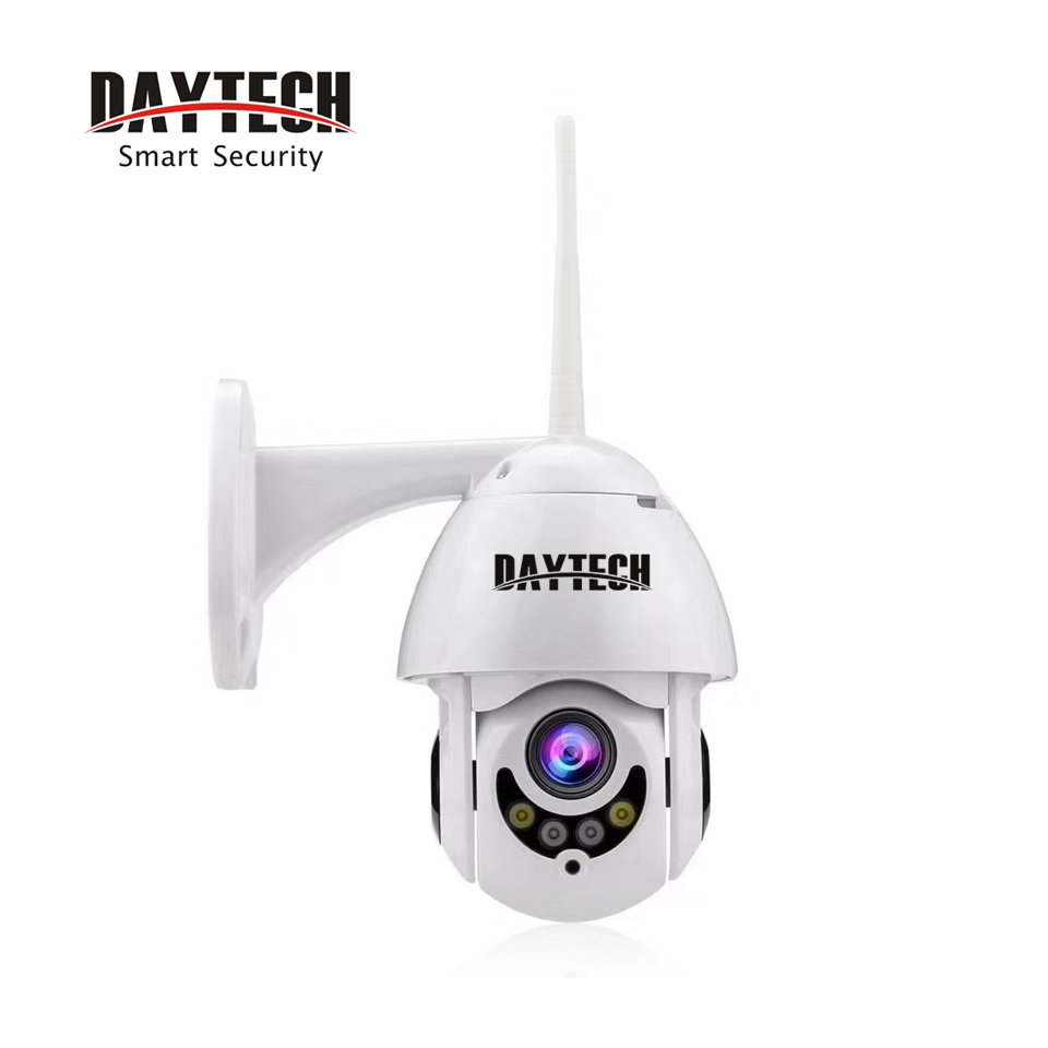 DAYTECH 1080P Wireless WiFi IP Full HD 2MP Camera Waterproof Outdoor Camera Home Security CCTV Pan Tilt H06 Drop Shipping