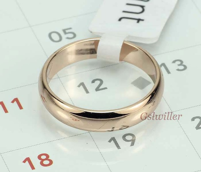 Free Shipping  Wholesale18k Real gold plated wedding Rings,fashion Wedding Ring , Couples rings