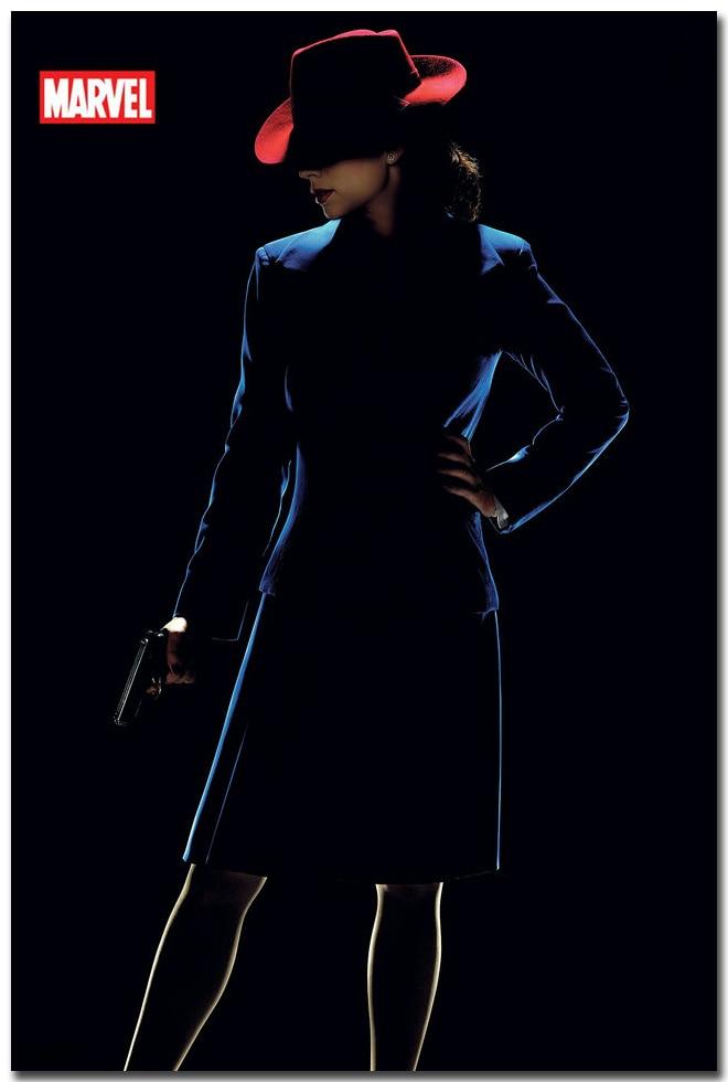 Agent Carter Hot TV Series Art Silk Poster Print 13x20 24x36 Home Wall Decoration Captain America 001
