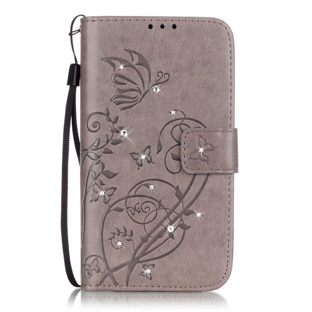TUKE Fashion Flip PU Leather Case for Samsung Galaxy Note 4 N9100 SM-N910S SM-N910C Wallet Card Insert Stand Cover