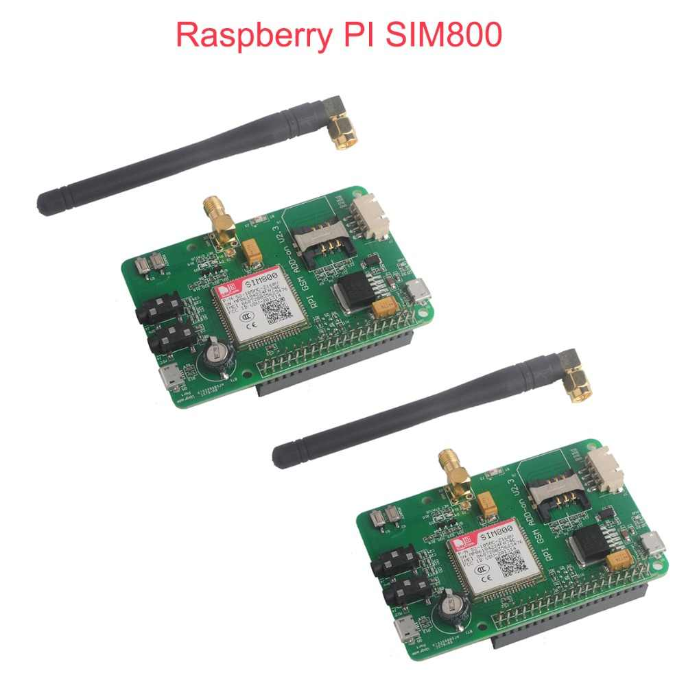 Detail Feedback Questions about 2pcs/lot Raspberry PI SIM800