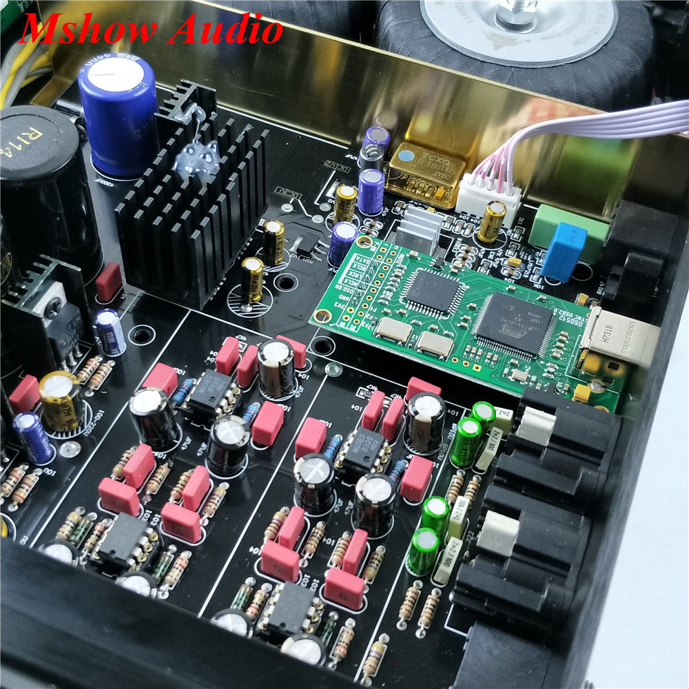 Image 3 - ES9038 ES9038PRO DAC DSD Decoder HIFI Audio + AD797 MUSES8920 + Amanero USB-in Amplifier from Consumer Electronics