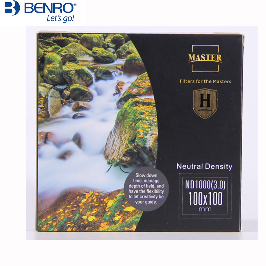 Benro MasterH ND16 ND64 ND256 ND1000 100 100mm Neutral Density Square Filter