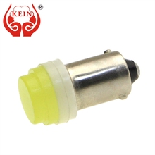 KEIN 10PCS BA9S T4W 363 COB car led License Plate Light Clearance Trunk Reading Interior Lamp Door Signal Bulb 12v white auto